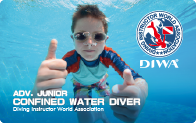 Adv. Junior Confined Water Diver